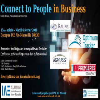 6 février : 15e Soirée Connect to People in Business