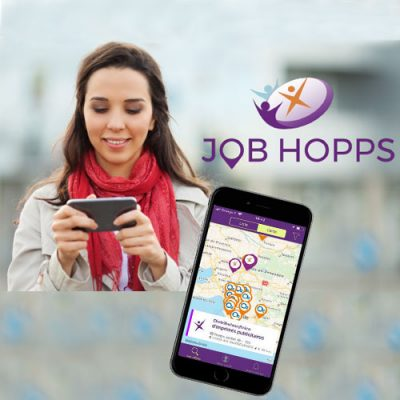 Temps partiel, recrutez facilement avec l'application Job Hopps