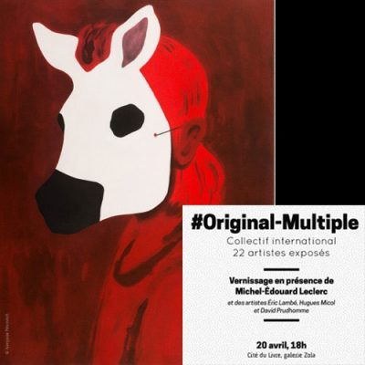 20 avril : Rencontres du 9ème  Art : vernissage de l'exposition #Original-Multiple