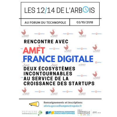 3 octobre : A la rencontre d'AMFT & France Digitale