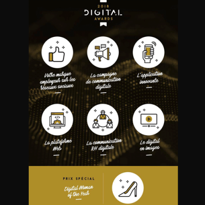 27 septembre : Digital Awards