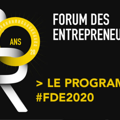 4 septembre : Forum des Entrepreneurs